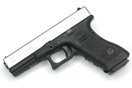 WE, Пистолет Glock-17 gen3 GGBB (CHROME)