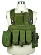 Жилет разгрузочный Assault Military Plate Carrier Tactical (OD)