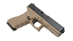 KJW, Пистолет Glock-17 CO2 GBB (TAN)