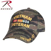 Rothco, Кепка SUPREME LOW PROFILE VIETNAM VETERAN (Tiger Stripe)